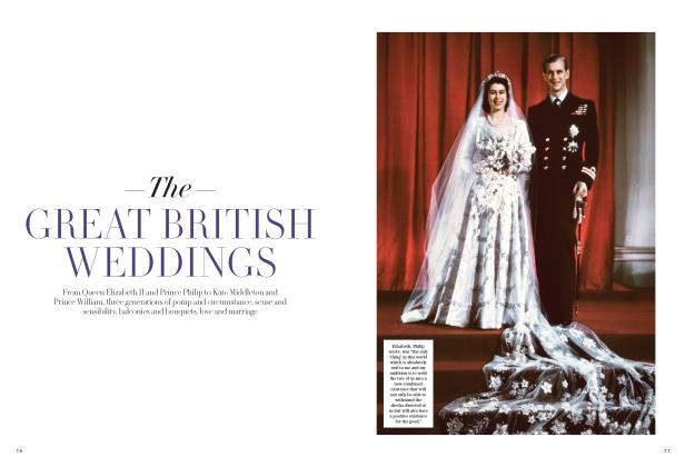 The GREAT BRITISH WEDDINGS