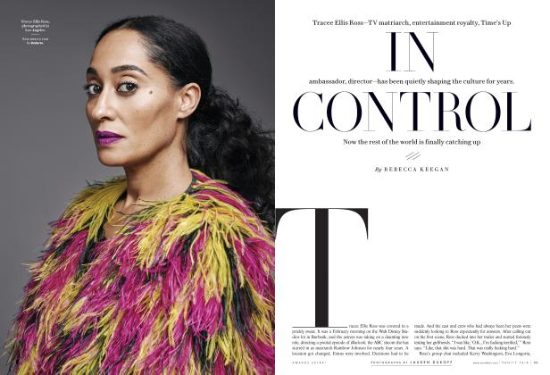 Article Preview: IN CONTROL, Special Edition 2018 | Vanity Fair