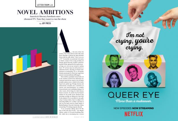 Article Preview: NOVEL AMBITIONS, August 2018 2018 | Vanity Fair