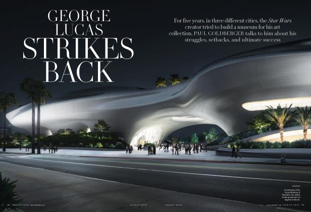 GEORGE LUCAS STRIKES BACK
