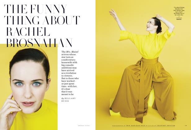 THE FUNNY THING ABOUT RACHEL BROSNAHAN