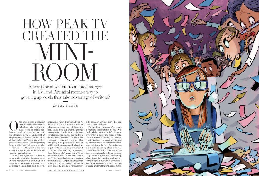 HOW PEAK TV CREATED THE MINIROOM
