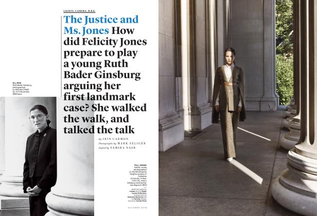 The Justice and Ms. Jones