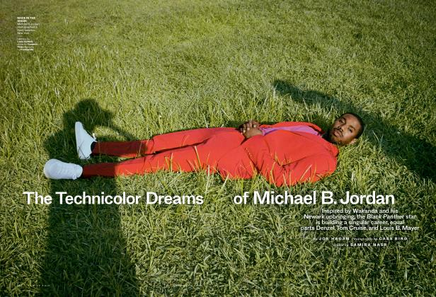 Article Preview: The Technicolor Dreams of Michael B. Jordan, November 2018 2018 | Vanity Fair