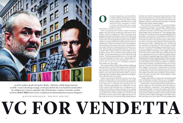 Article Preview: VC FOR VENDETTA, SPECIAL EDITION 2018 | Vanity Fair