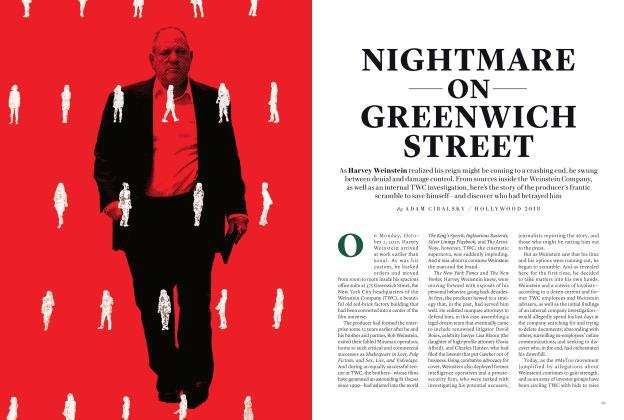 NIGHTMARE ON GREENWICH STREET