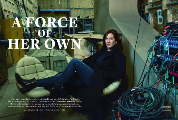 A FORCE OF HER OWN