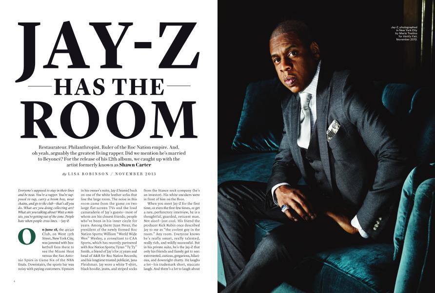 JAY-Z HAS THE ROOM