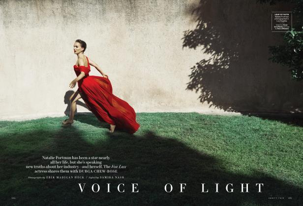 Article Preview: VOICE OF LIGHT, December 2018 | Vanity Fair