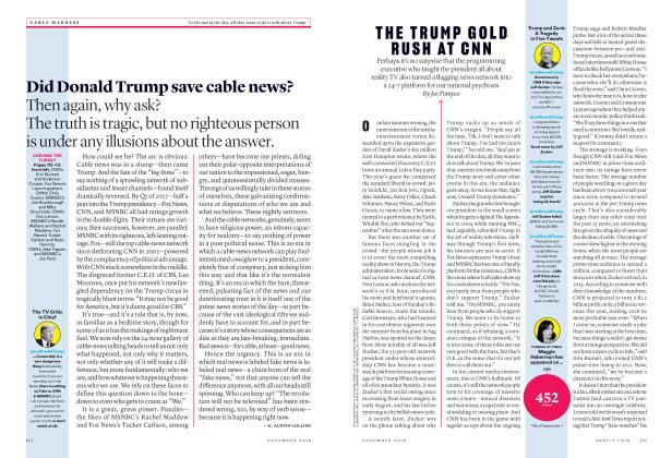 Article Preview: THE TRUMP GOLD RUSH AT CNN, December 2018 2018 | Vanity Fair