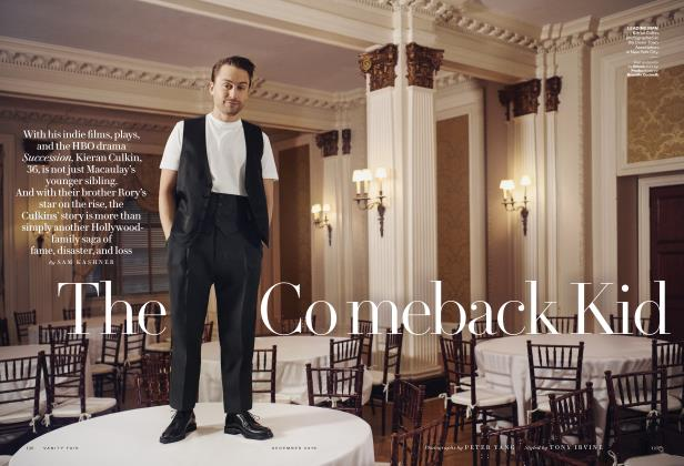 Article Preview: The Comeback Kid, December 2018 | Vanity Fair