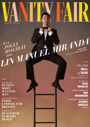 HOLIDAY 2018/2019 | Vanity Fair