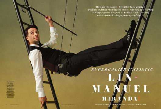 SUPERCALIFRAGILISTIC LIN-MANUEL MIRANDA! - HOLIDAY | Vanity Fair