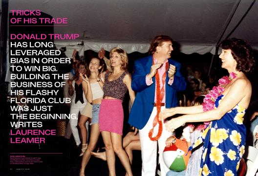 TRICKS OF HIS TRADE - February   Vanity Fair