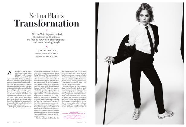 Article Preview: Selma Blair's Transformation, March 2019 | Vanity Fair