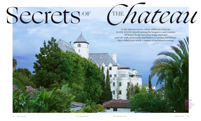 Article Preview: Secrets OF THE Chateau, HOLLYWOOD 2019 | Vanity Fair