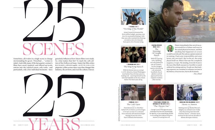 Article Preview: 25 SCENES, 25 YEARS, HOLLYWOOD 2019 2019 | Vanity Fair