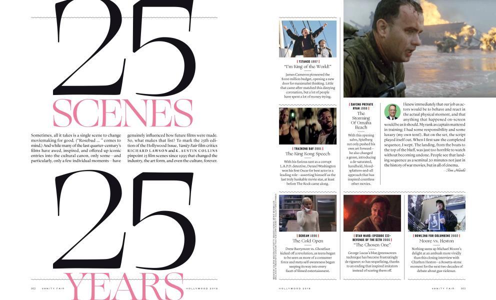 25 SCENES, 25 YEARS