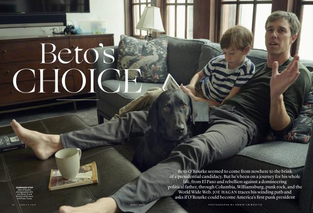 Article Preview: Beto's CHOICE, April 2019 | Vanity Fair
