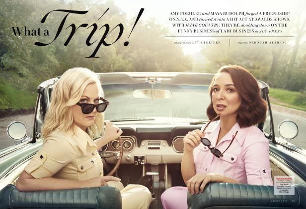 Article Preview: What a Trip!, April 2019 | Vanity Fair