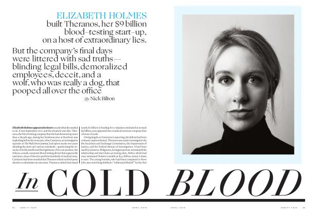 Article Preview: In COLD BLOOD, April 2019 | Vanity Fair