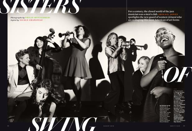 Article Preview: SISTERS OF SWING, August 2019 2019 | Vanity Fair