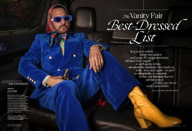 The Vanity Fair Best-Dressed List