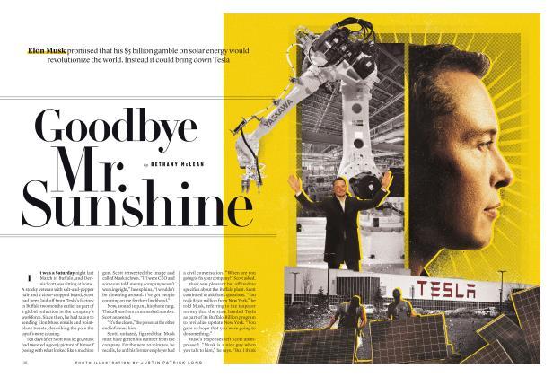 Goodbye Mr. Sunshine