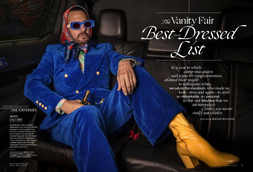 The Vanity Fair Best-Dressed List