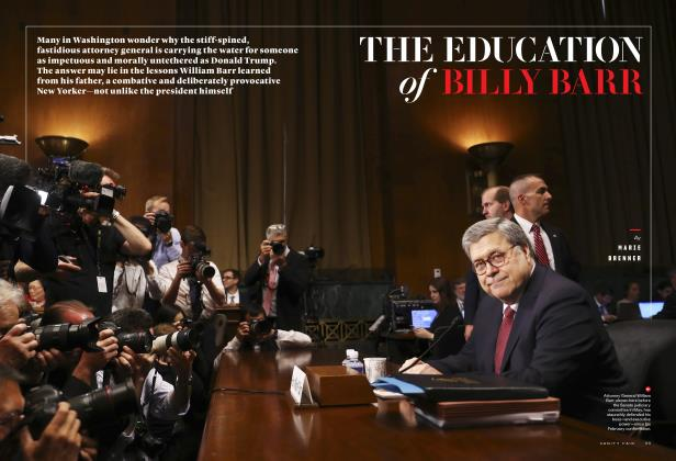 Article Preview: THE EDUCATION of BILLY BARR, December 2019 | Vanity Fair