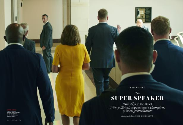 Article Preview: The SUPER SPEAKER, December 2019 2019 | Vanity Fair