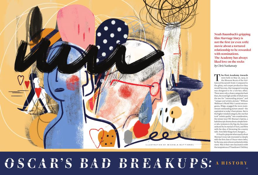 OSCAR'S BAD BREAKUPS: A HISTORY