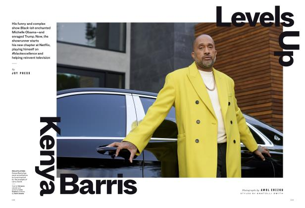 Kenya Barris Levels Up