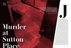 Murder at Sutton Place | Vanity Fair