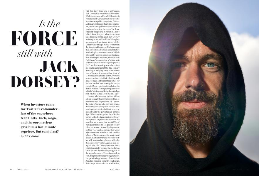 Is the FORCE still with JACK DORSEY?