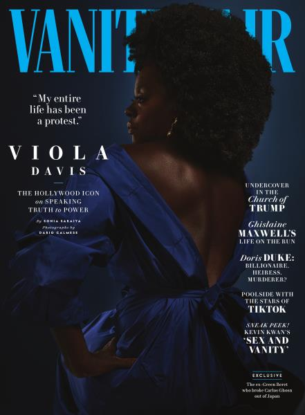 Vanity Fair magazine cover for July/August 2020