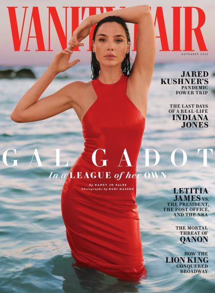 Vanity Fair magazine cover for November 2020