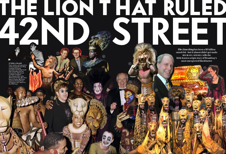 THE LION THAT RULED 42ND STREET