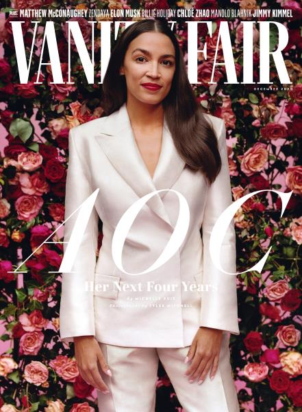 Vanity Fair magazine cover for December 2020