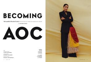 BECOMING AOC | Vanity Fair