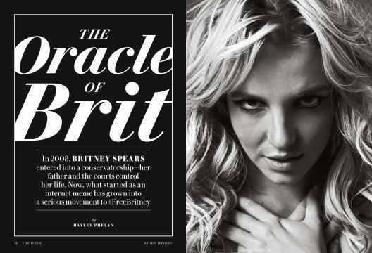 The Oracle of Brit - HOLIDAY 2020/21 | Vanity Fair
