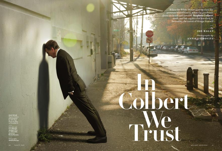 In Colbert We Trust