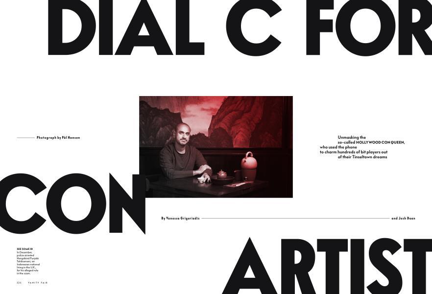 DIAL C FOR CON ARTIST