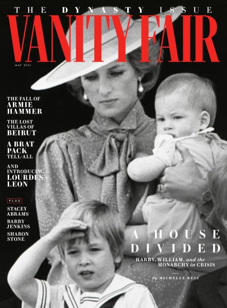 Vanity Fair magazine cover for May 2021