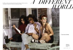 A DIFFERENT WORLD | Vanity Fair