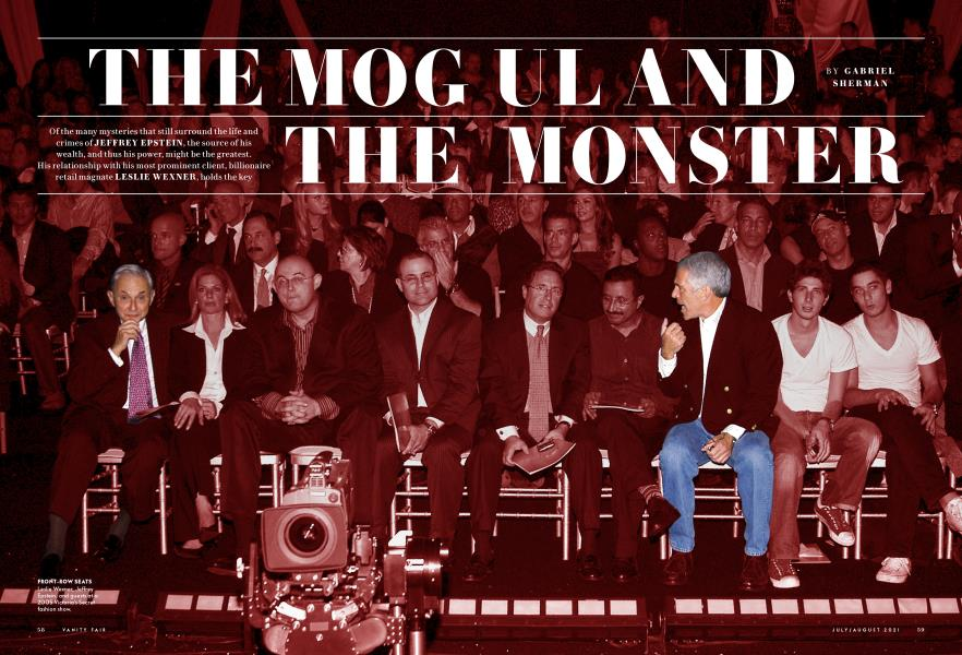 THE MOGUL AND THE MONSTER