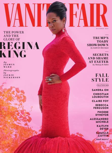 Vanity Fair magazine cover for October 2021