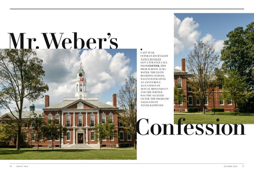 Mr. Weber's Confession