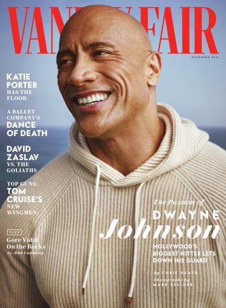 Vanity Fair magazine cover for NOVEMBER 2021